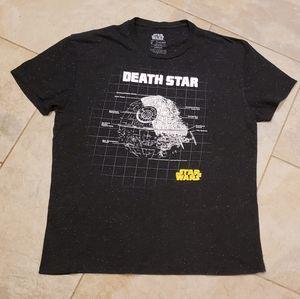 Star Wars death star tshirt, Mens Large